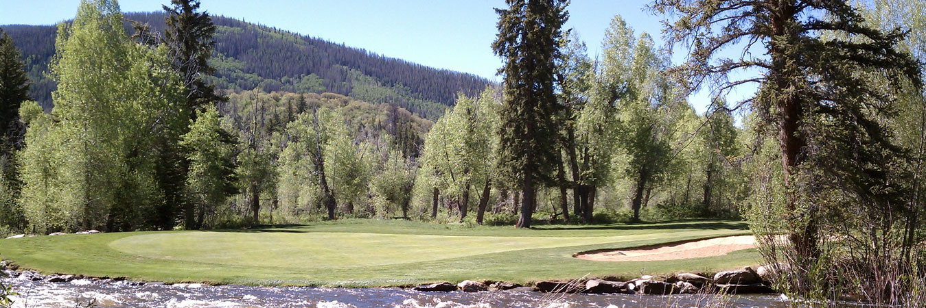Golf course in Steamboat